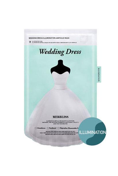 Wedding Dress Illumination Ampoule Mask