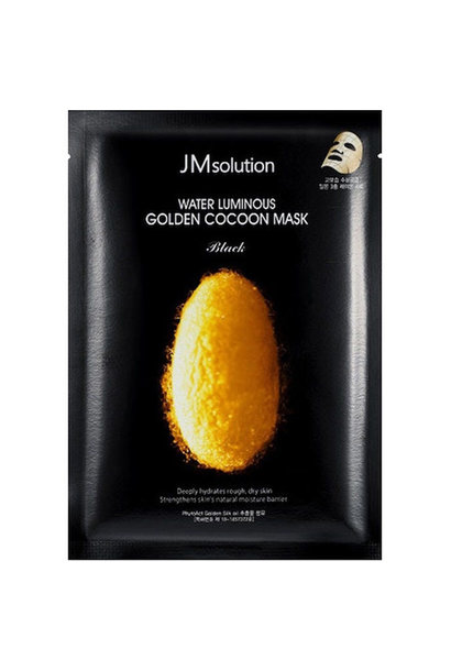 Water Luminous Golden Cocoon Mask Black