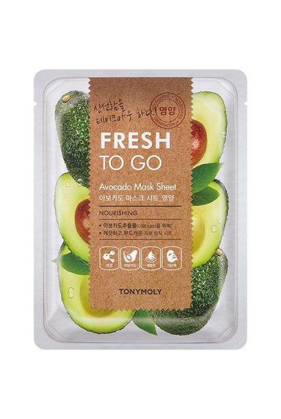 Fresh To Go Avocado Mask Sheet