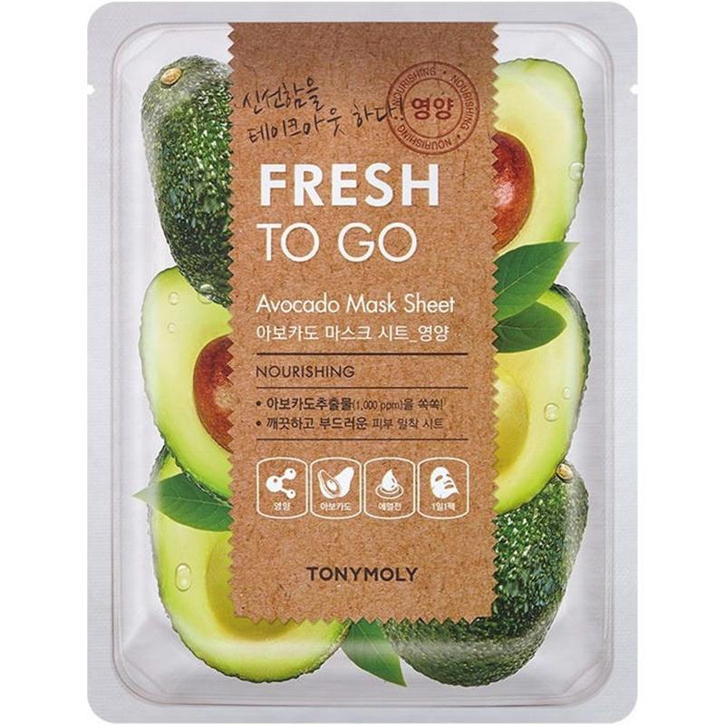 Fresh To Go Avocado Mask Sheet-1