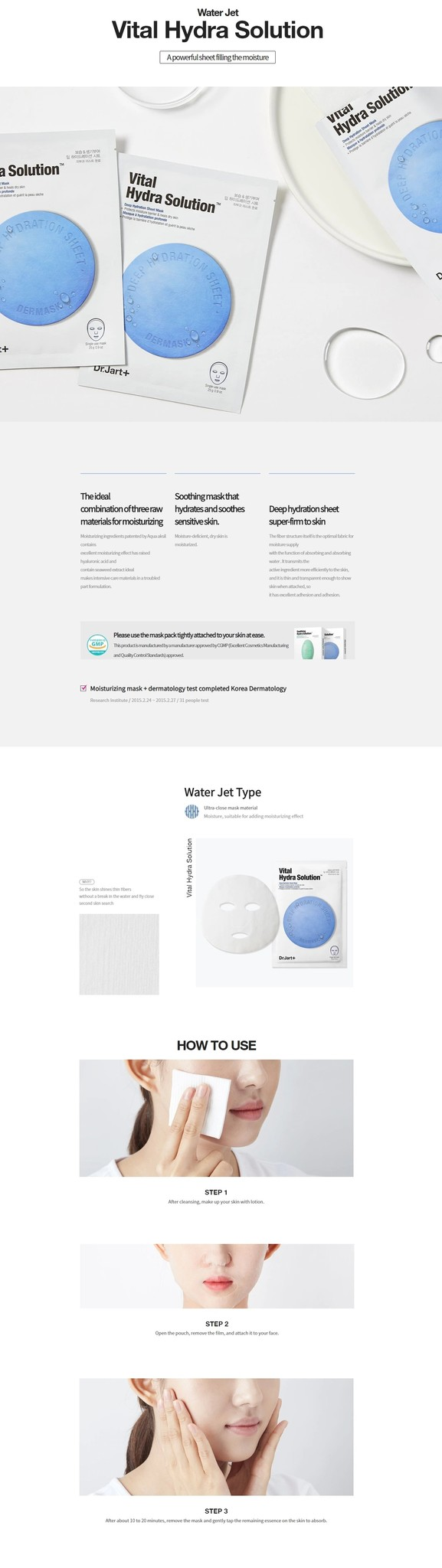Dermask Water Jet Vital Hydra Solution-3