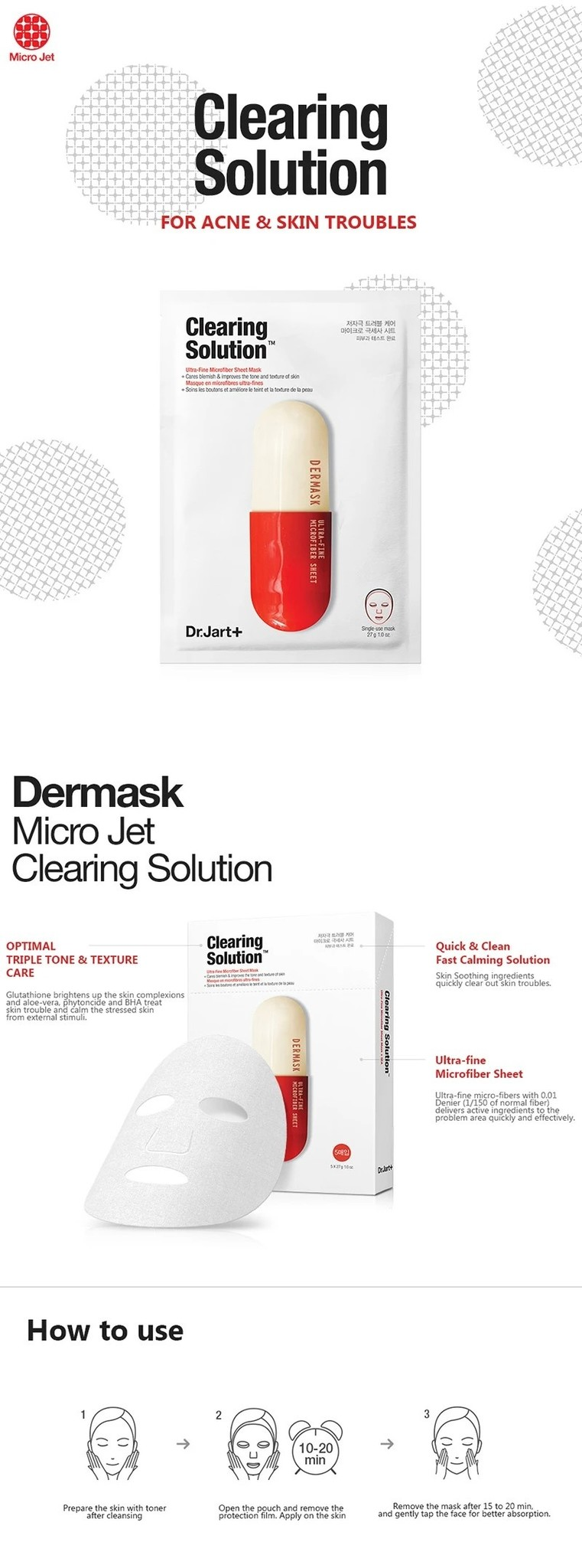 Dermask Micro Jet Clearing Solution-2
