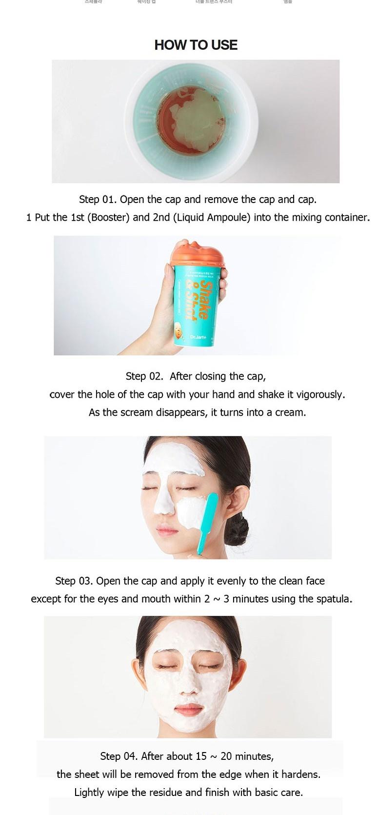 Shake&Shot - Rubber Soothing Mask-3
