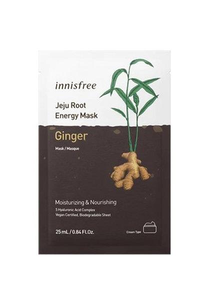 Jeju Root Energy Tuchmaske [Ingwer]