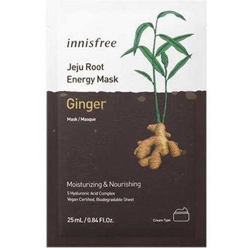 Jeju Root Energy Sheet Mask [Ginger]-1