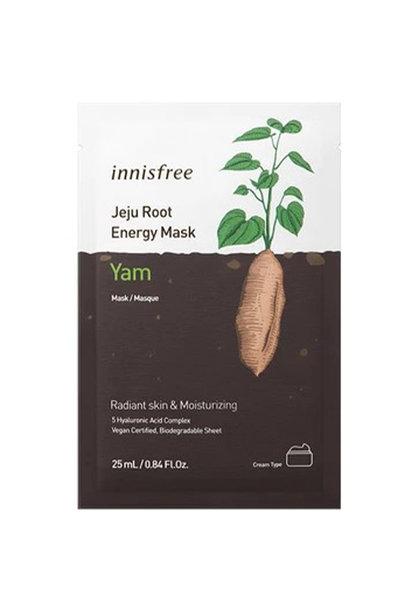 Jeju Root Energy Sheet Mask [Yam]