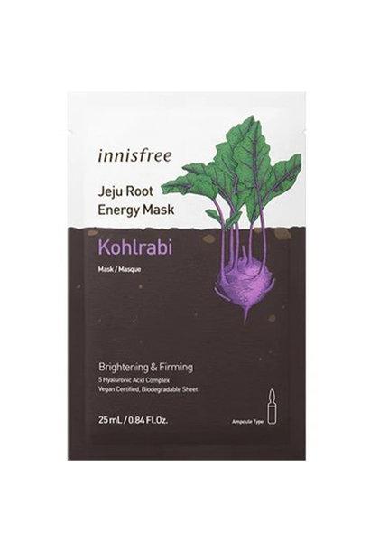 Jeju Root Energy Sheet Mask [Kohlrabi]