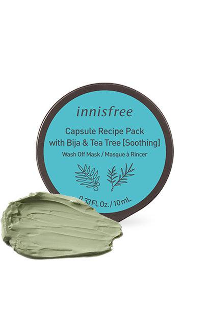Capsule Recipe Bija & Tea Tree (Soothing)