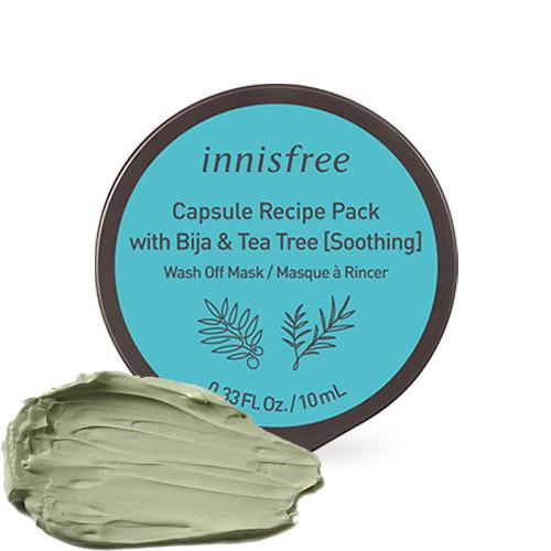 Capsule Recipe Wash-Off Maske Bija & Teebaum (Beruhigend)-1