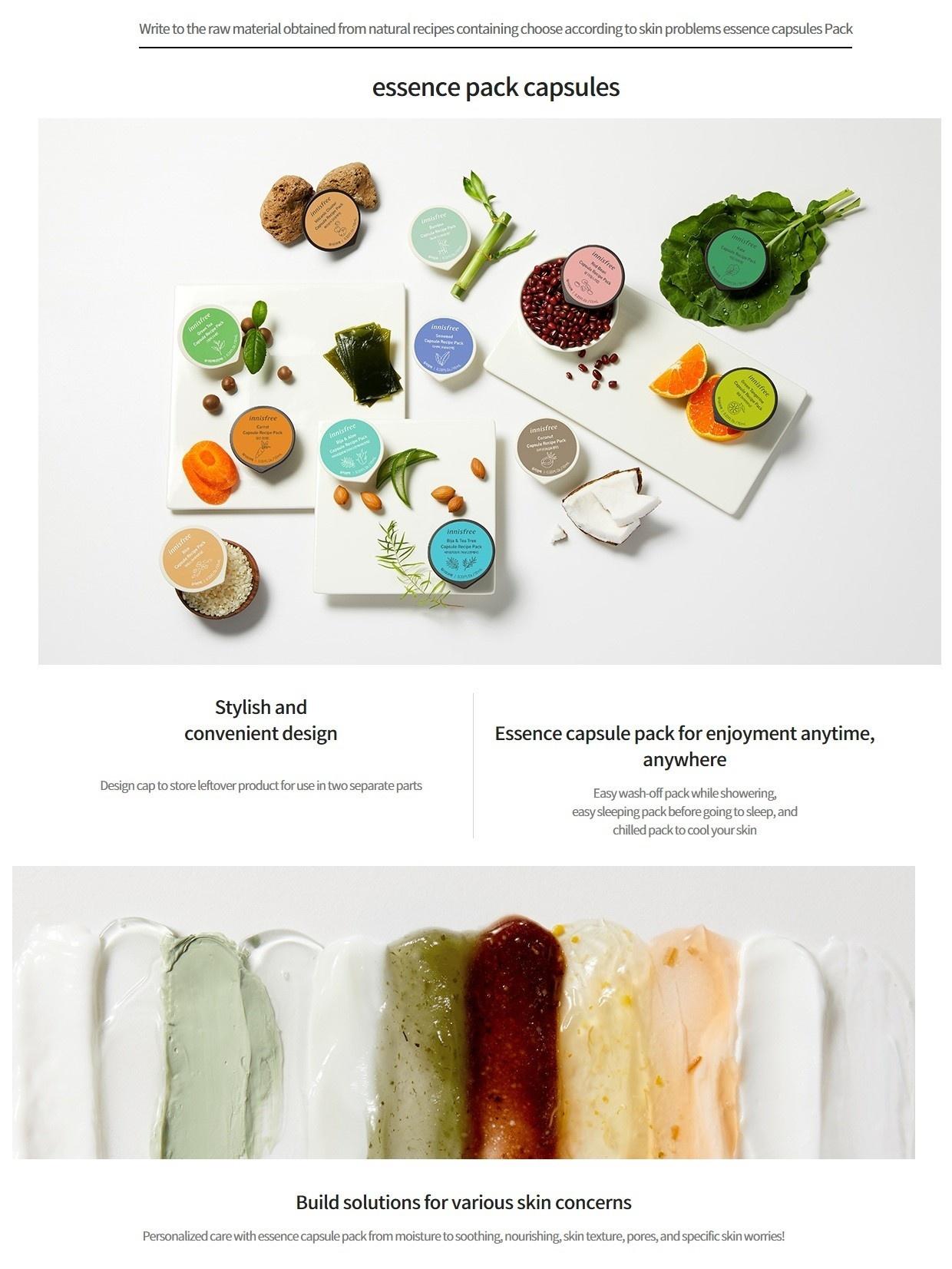 Capsule Recipe Wash-Off Maske Bija & Teebaum (Beruhigend)-2