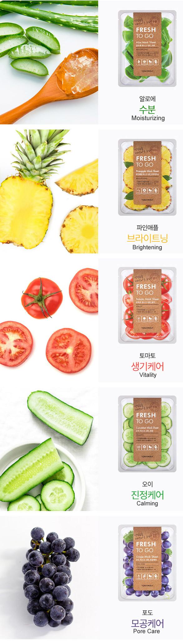 Fresh To Go Cucumber Mask Sheet-5