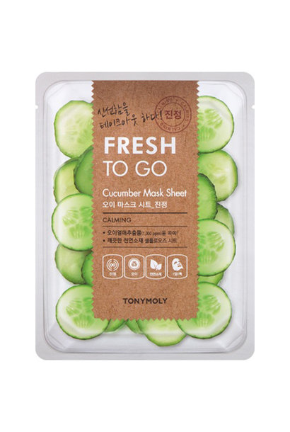 Fresh To Go Cucumber Mask Sheet