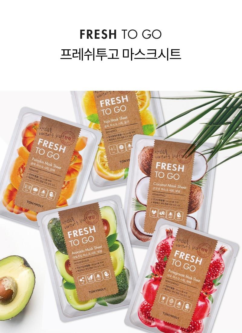 Fresh To Go Yuja Mask Sheet-2