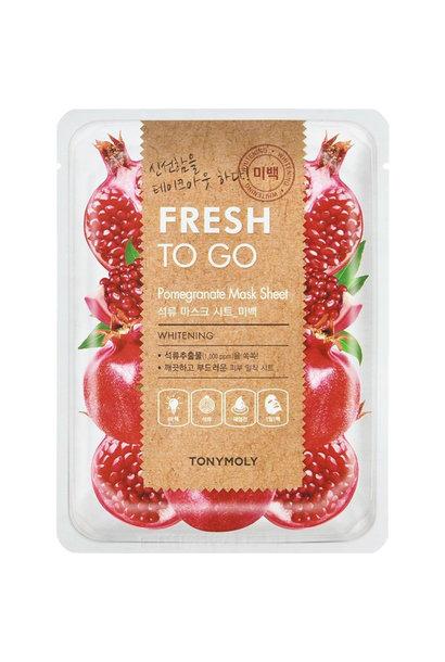 Fresh To Go Pomegranate Mask Sheet
