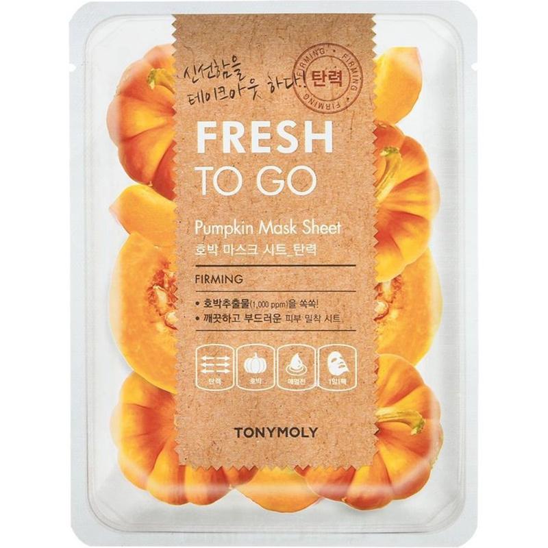 Fresh To Go Pumpkin Mask Sheet-1