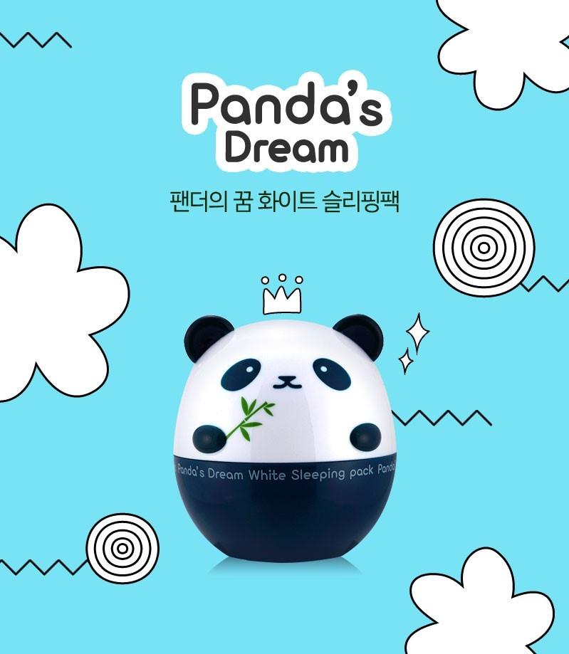 Panda's Dream White Sleeping Mask-3