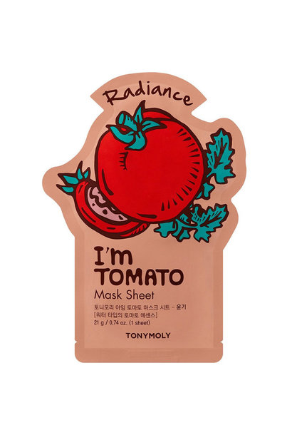 I`m REAL Tomato Mask Sheet Radiance