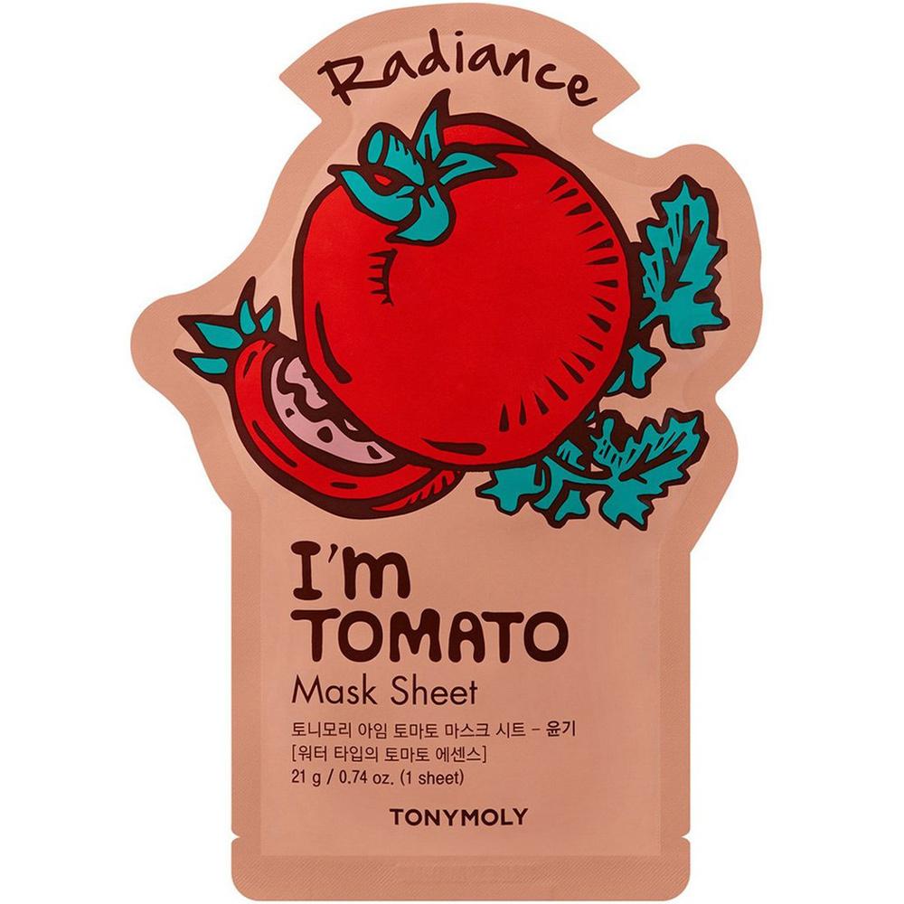 I`m REAL Tomato Mask Sheet Radiance-1