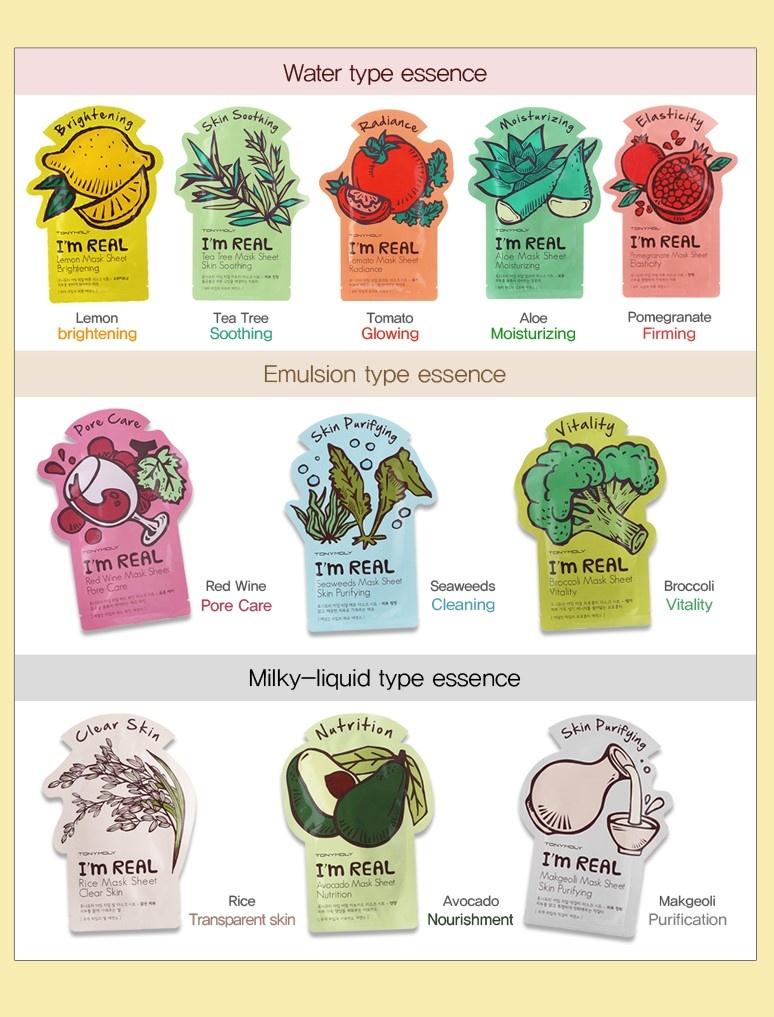 I`m REAL Tea Tree Mask Sheet Soothing-3