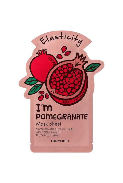 I`m REAL Pomegranate Mask Sheet Elasticity