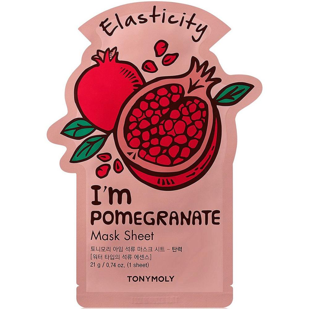 I`m REAL Pomegranate Mask Sheet Elasticity-1