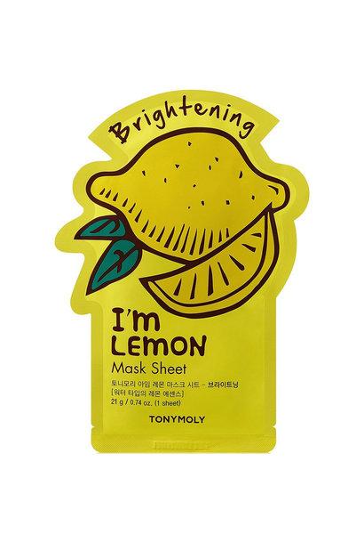 I`m REAL Lemon Mask Sheet Brightening