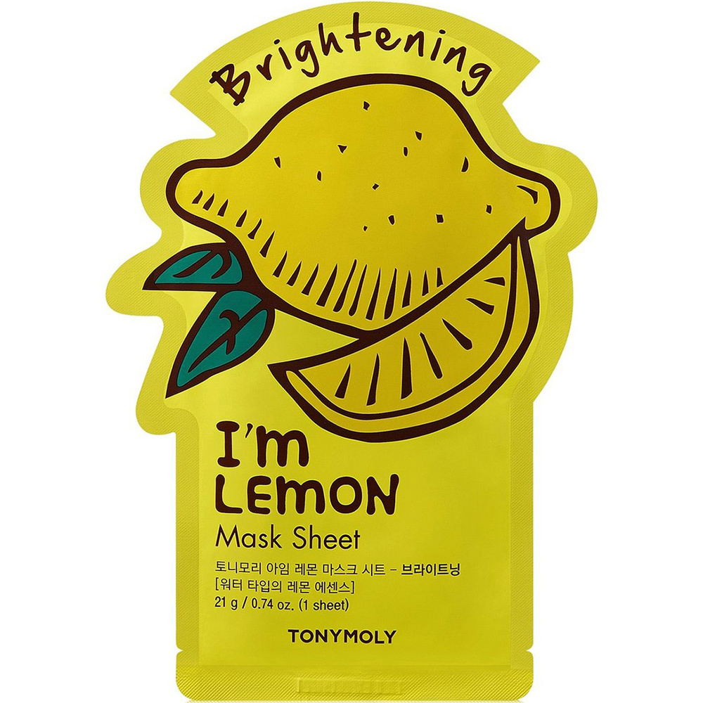 I`m REAL Lemon Mask Sheet Brightening-1