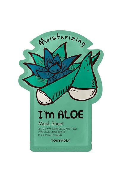 I`m REAL Aloe Mask Sheet Moisturizing