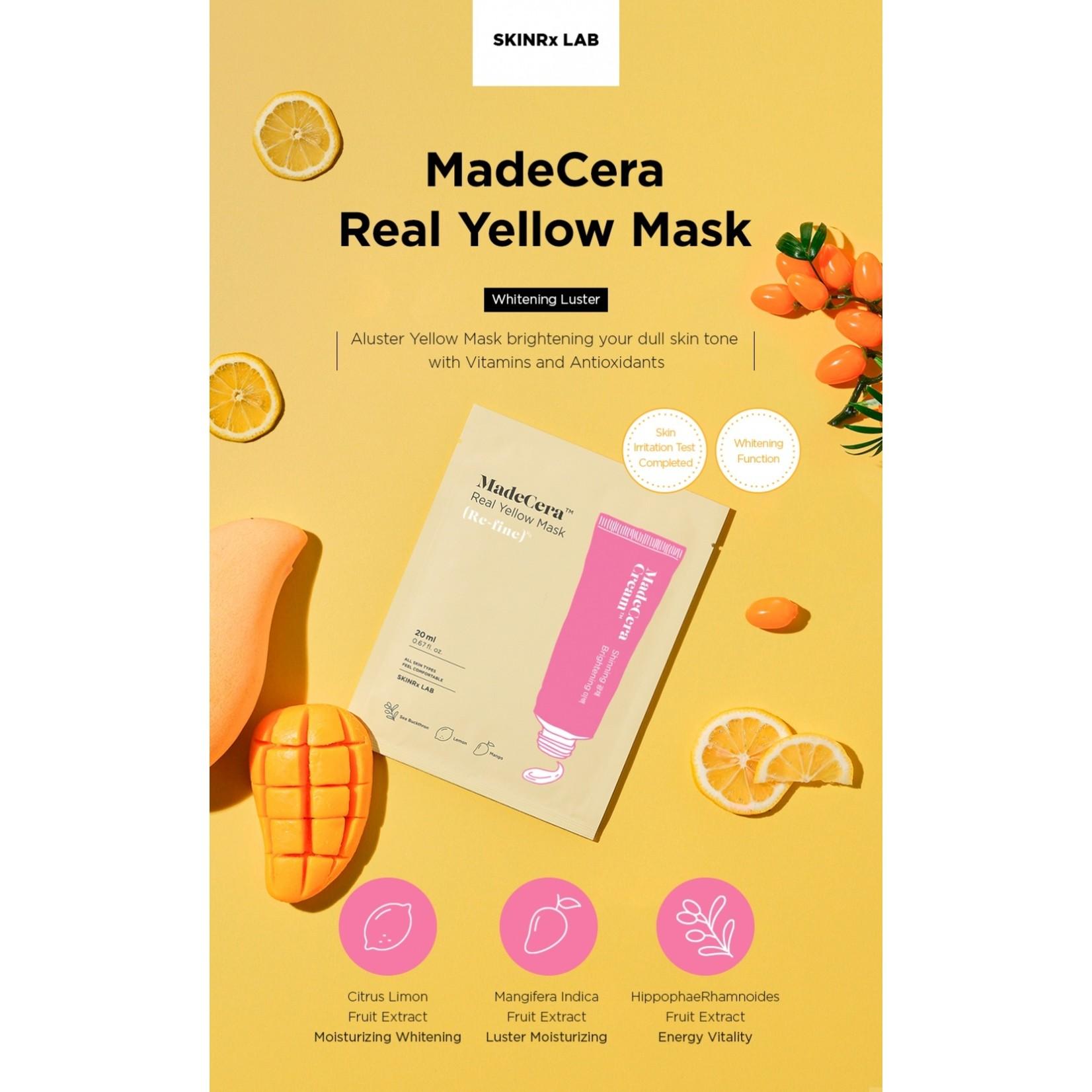SKINRx LAB MadeCera Real Yellow Mask