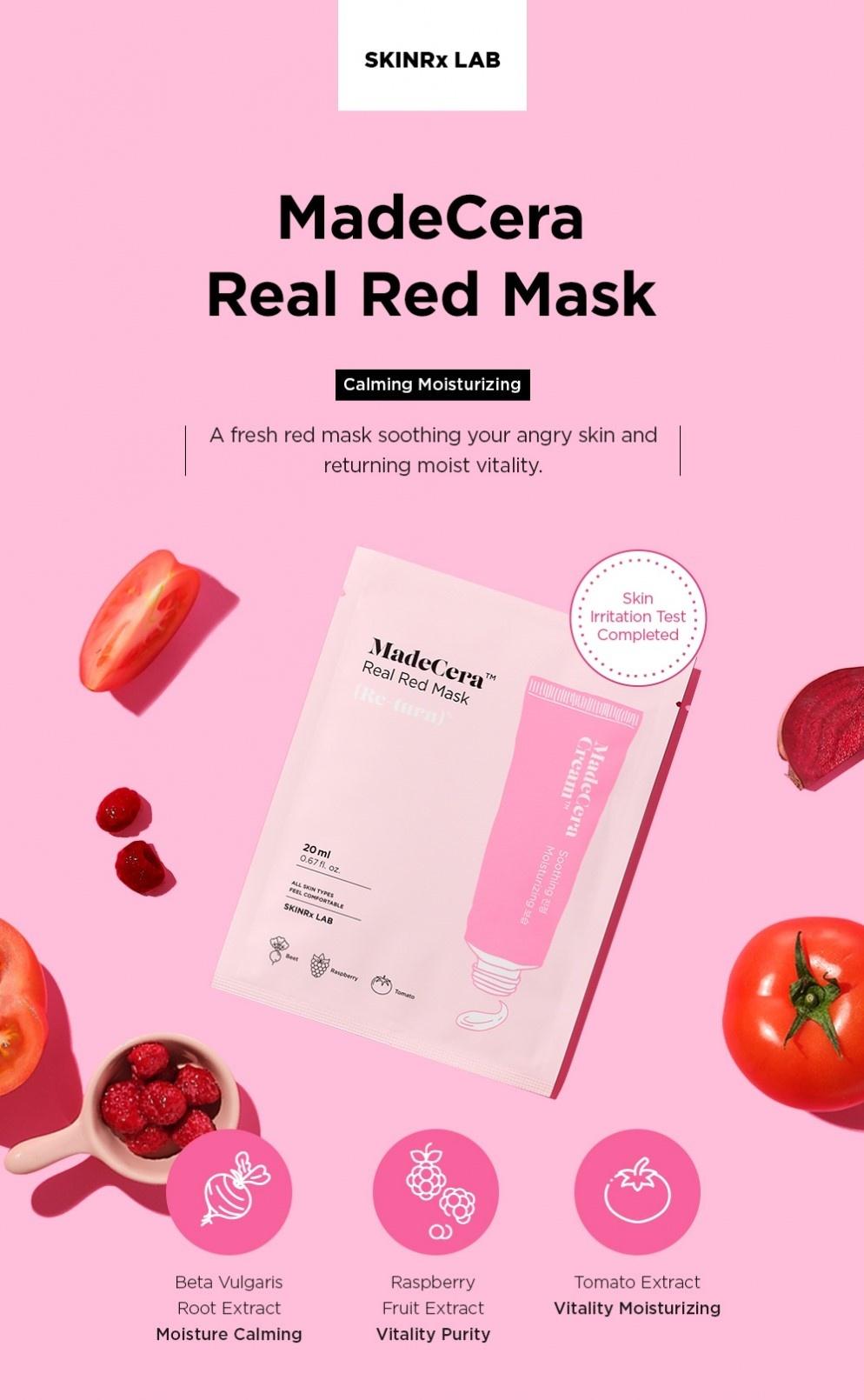 MadeCera Real Red Mask-2