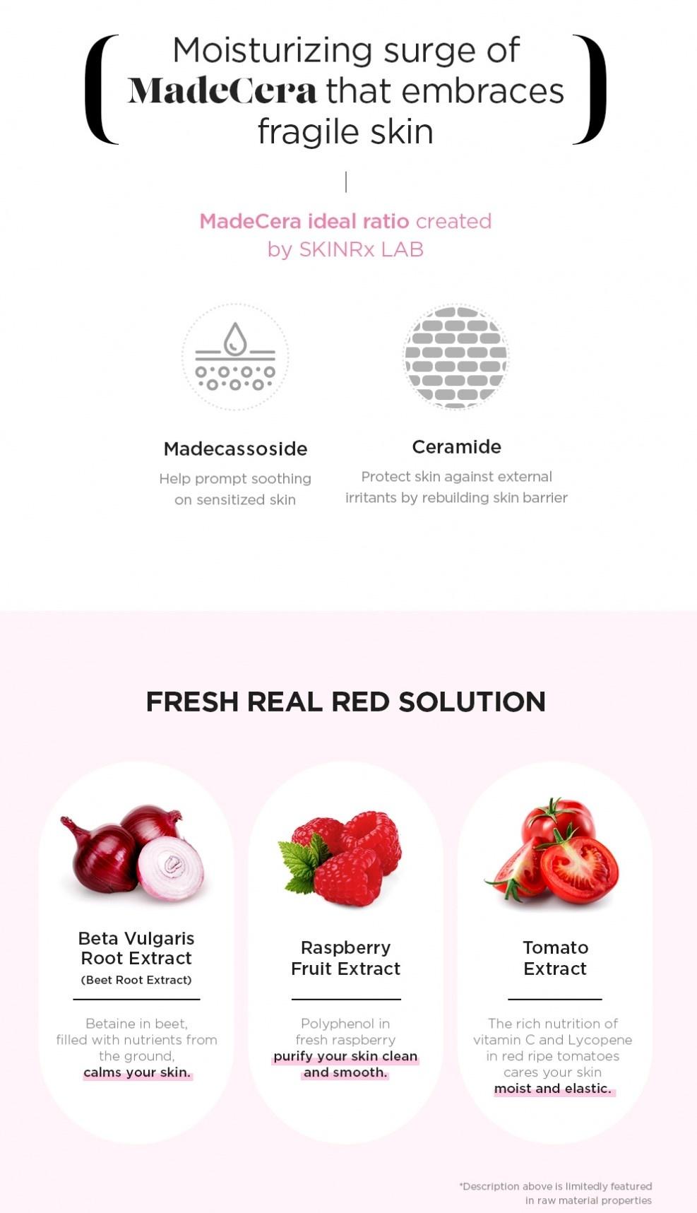 MadeCera Real Red Mask-4