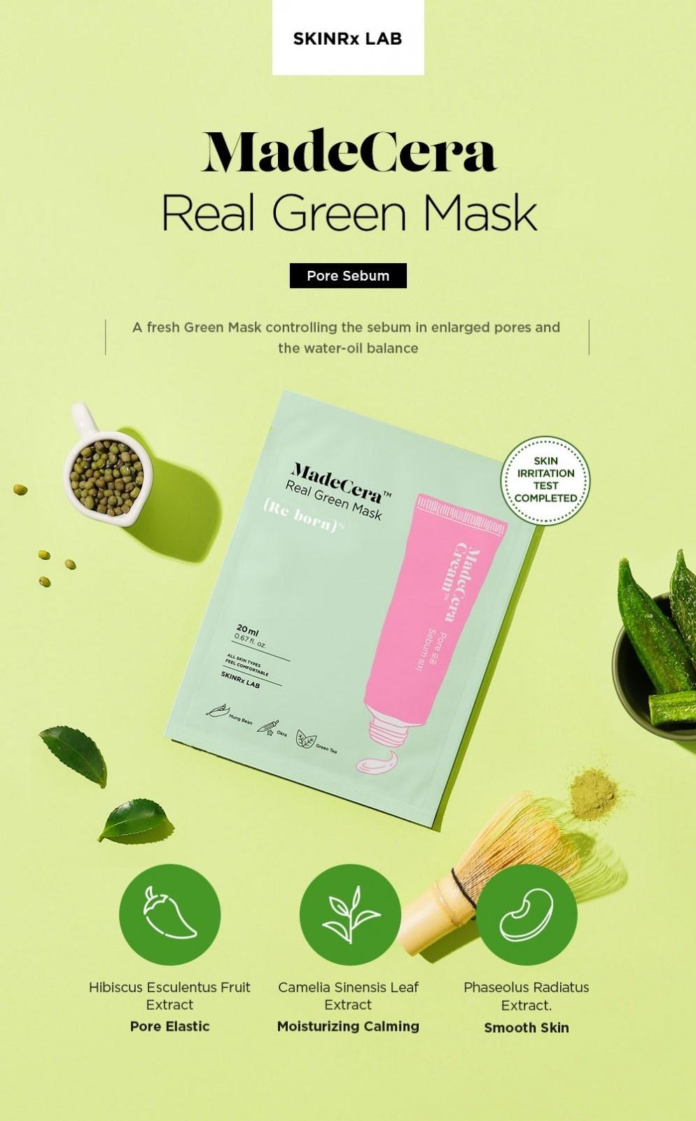 MadeCera Real Green Mask-2