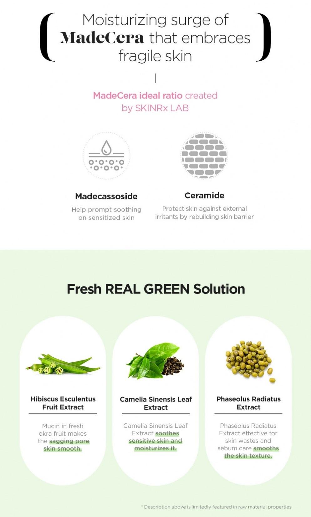 MadeCera Real Green Mask-4