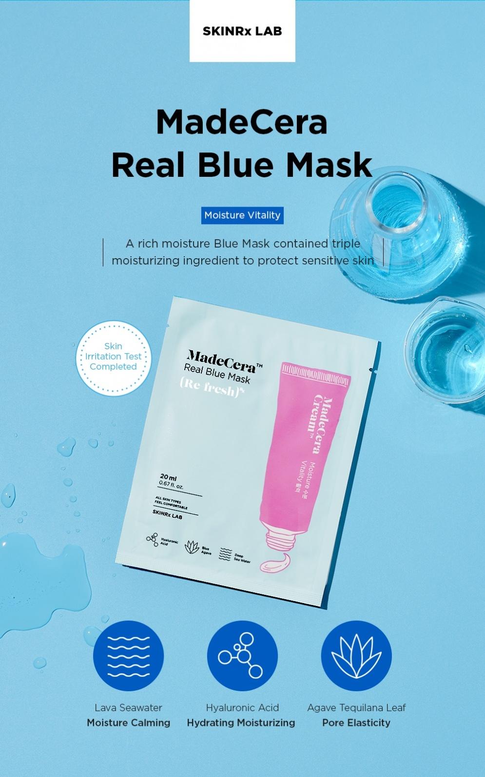 MadeCera Real Blue Mask-2