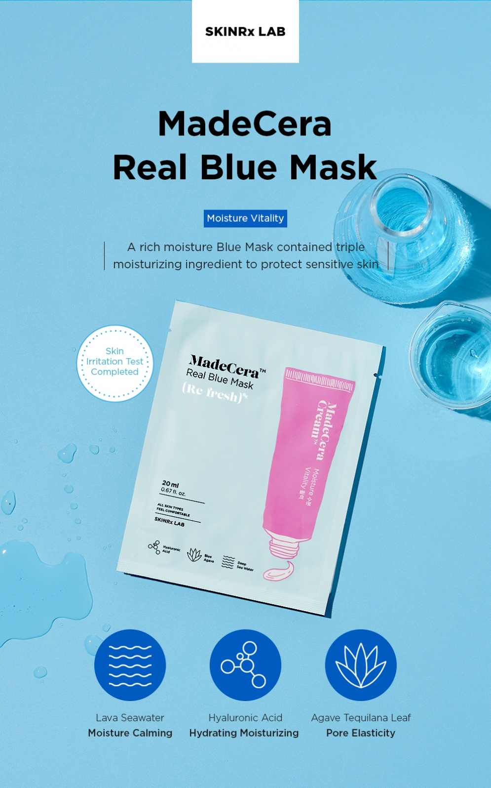 MadeCera Real Mask Set  (5 pcs)-4