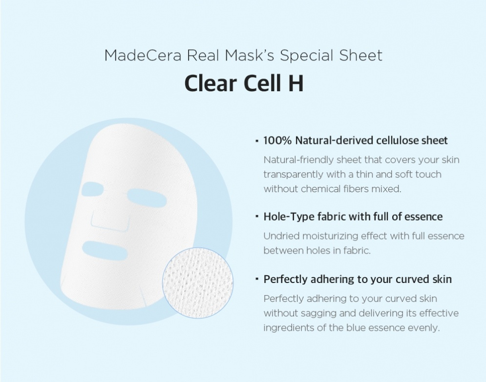 MadeCera Real Mask Set  (5 pcs)-7