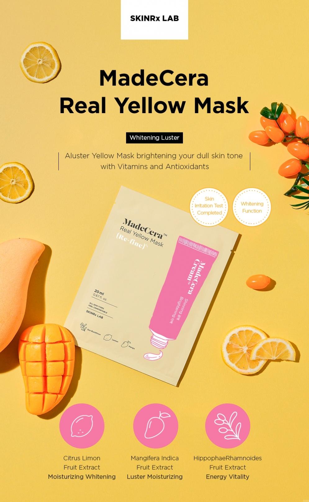 MadeCera Real Mask Set  (5 pcs)-6
