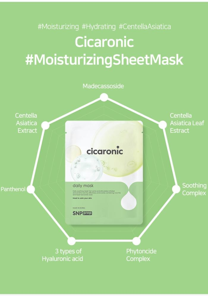 SNP-Prep Sheet Mask Trial Mix (3 pcs)-6
