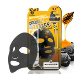 Elizavecca Charcoal Honey Deep Power Ringer Mask