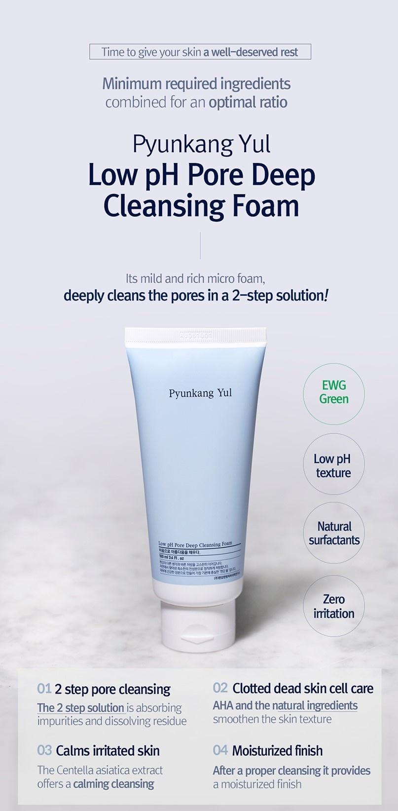 Low pH Pore Deep Cleansing Foam 40ml-2
