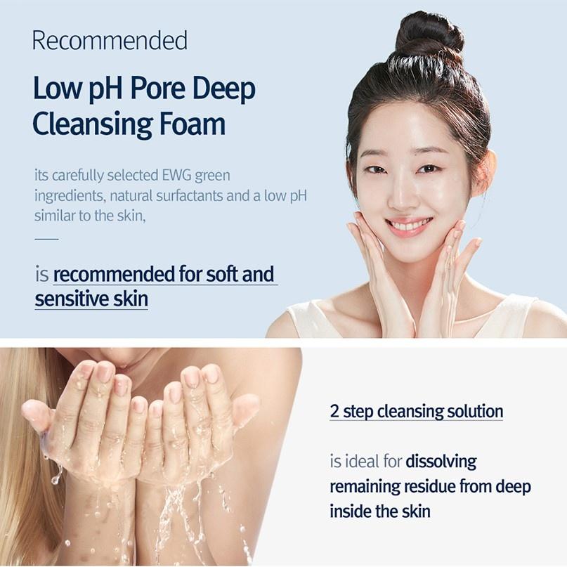 Low pH Pore Deep Cleansing Foam 40ml-3