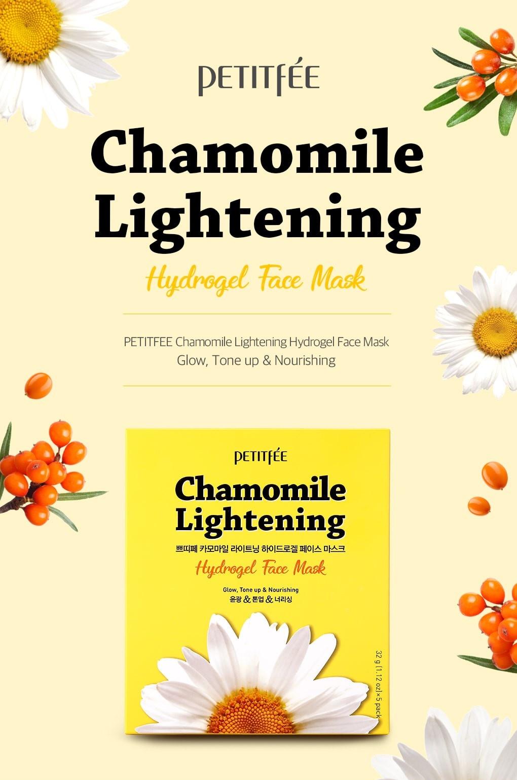 Chamomile Lightening Hydrogel Maske-2