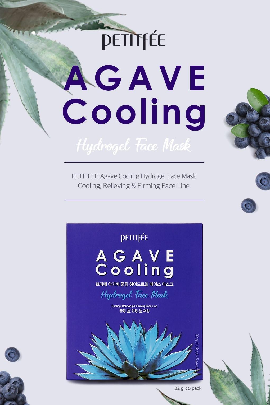 Agave Cooling Hydrogel Maske-2