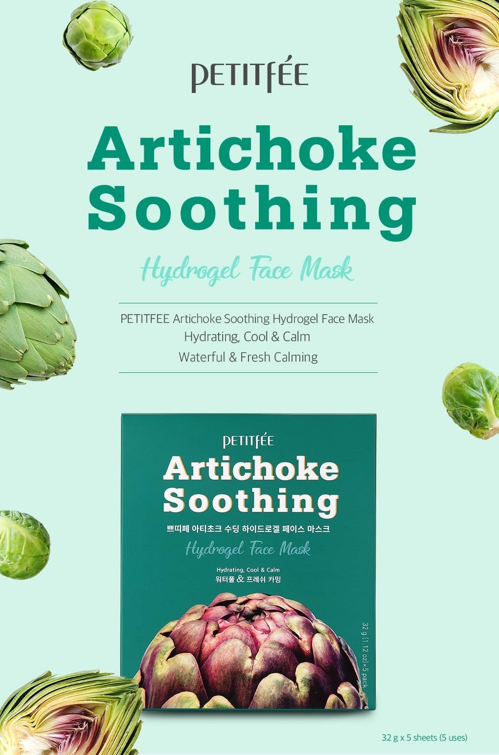 Artichoke Soothing Hydrogel Mask-2