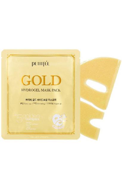 Gold Hydrogel Maske