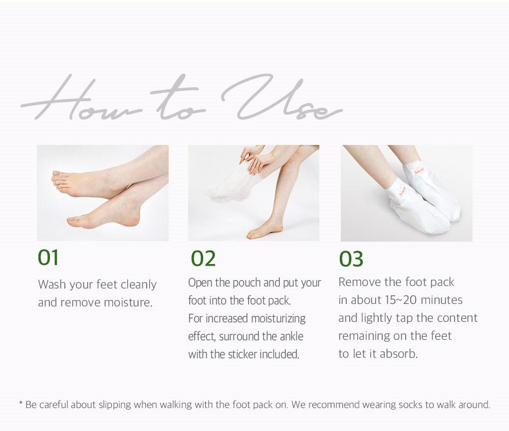 Melting Essence Foot Pack-5