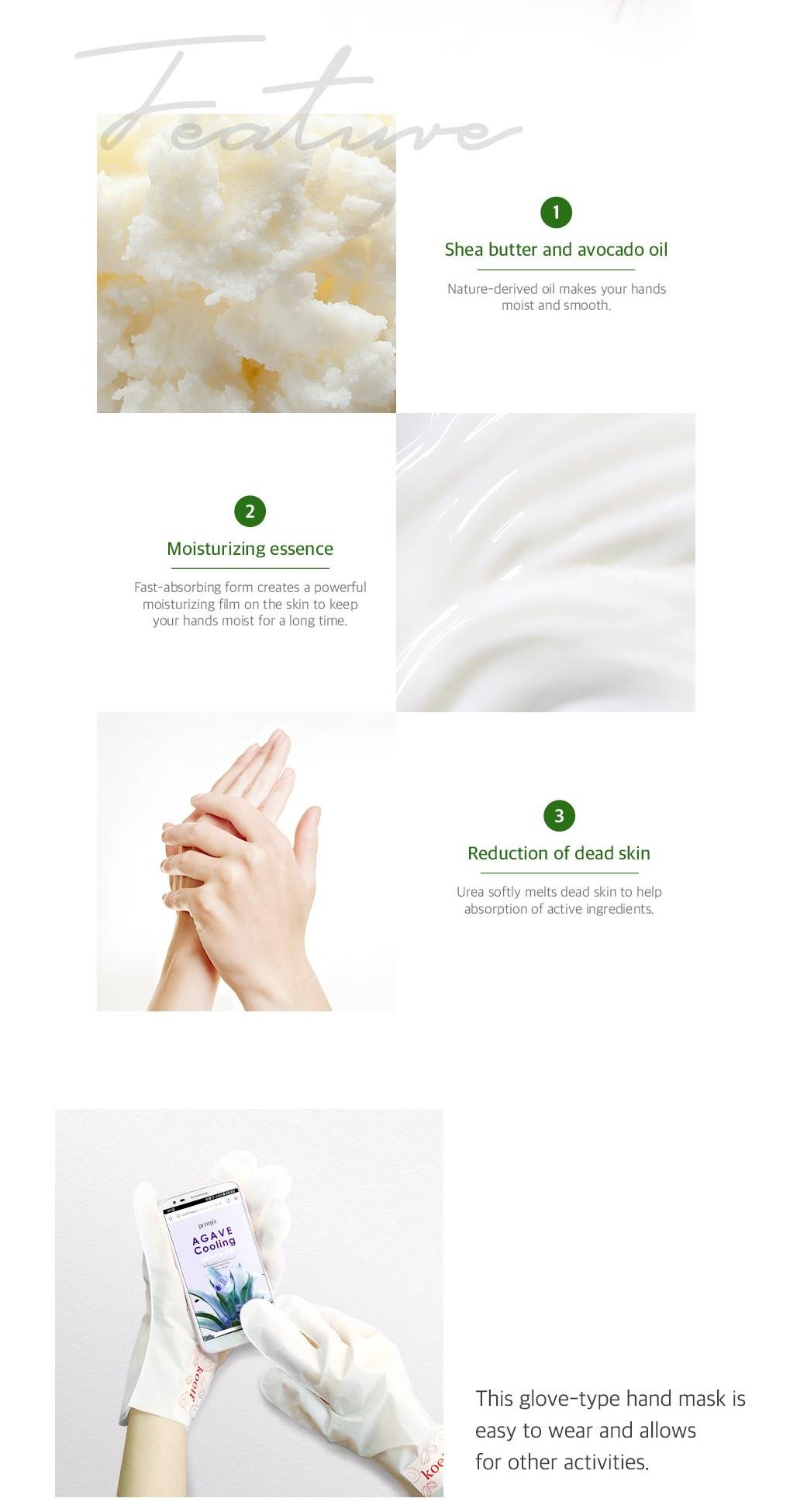 Melting Essence Hand Foot Pack Mix Set (2 pcs)-3