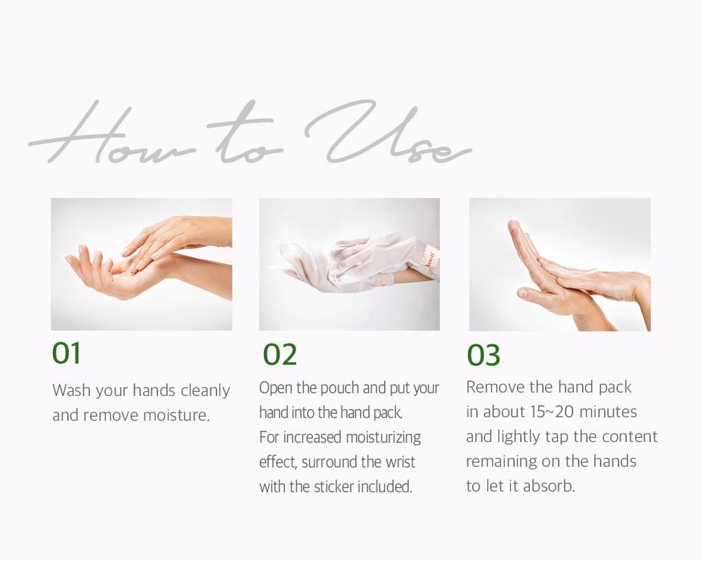 Melting Essence Hand Foot Pack Mix Set (2 pcs)-4