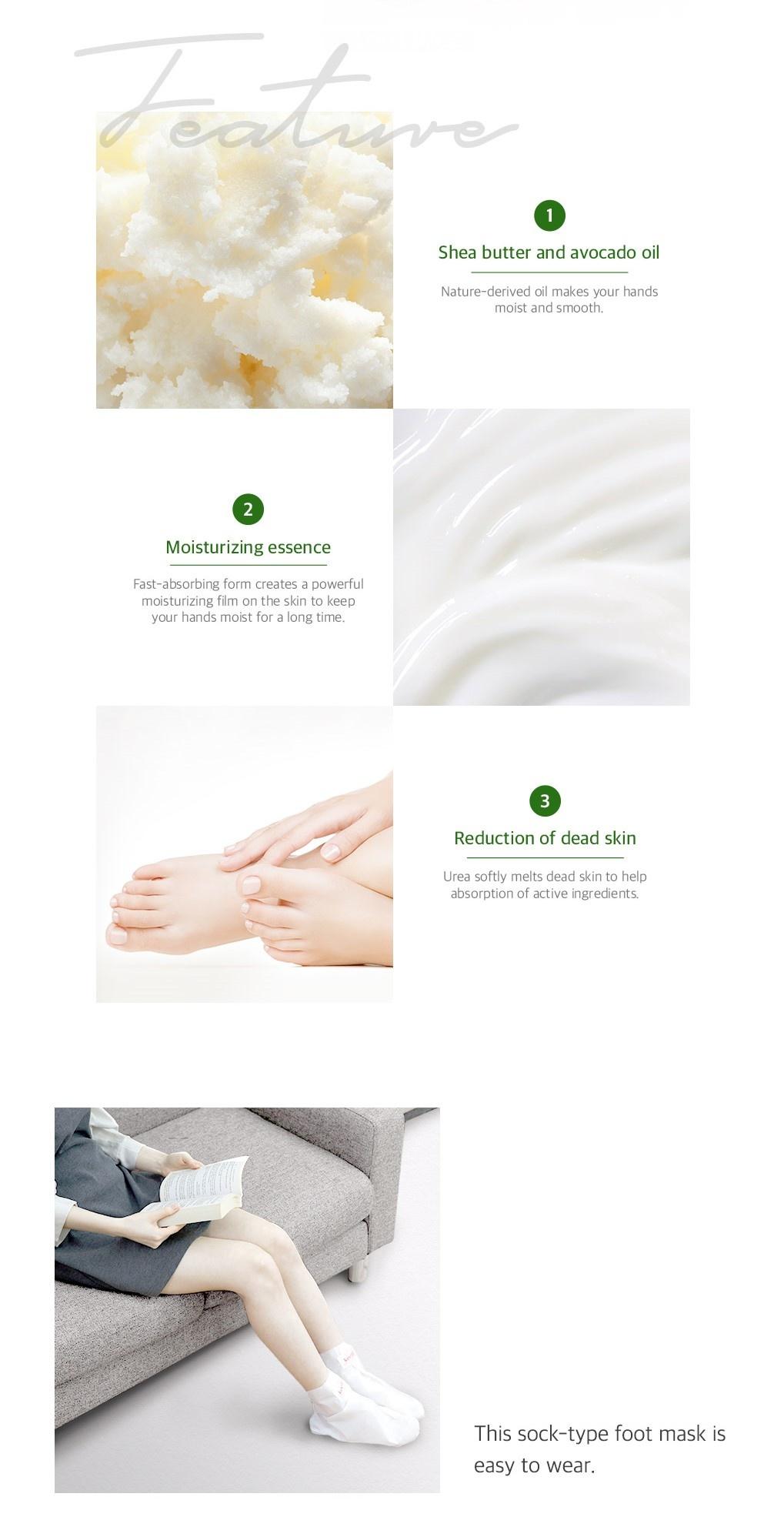 Melting Essence Hand Foot Pack Mix Set (2 pcs)-6