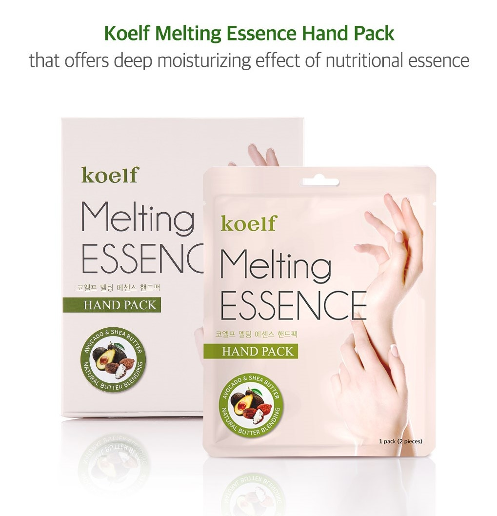 Melting Essence Hand Foot Pack Mix Set (2 pcs)-2